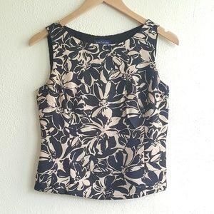 Ann Taylor sleeveless silk blouse